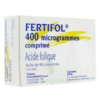 FERTIFOL 400 µg Cpr Plq/90 à POITIERS