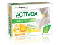 Activox Sans Sucre Pastilles Miel Citron B/24 à POITIERS
