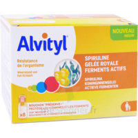 Alvityl Resist Solution Buvable 8 Fioles à POITIERS