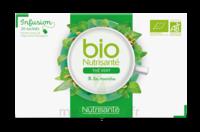 Nutrisanté Infusions Bio Thé Vert Menthe 20 Sachets à POITIERS