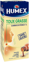 Humex 5 % Solution Buvable Expectorant Sans Sucre Adulte Fl/250ml à POITIERS