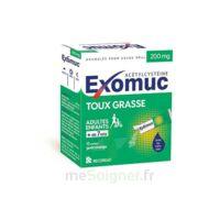 EXOMUC 200 mg glé usage oral en sachet 15 Sachets/2g à POITIERS