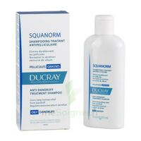Ducray Squanorm Shampooing Pellicule Grasse 200ml à POITIERS